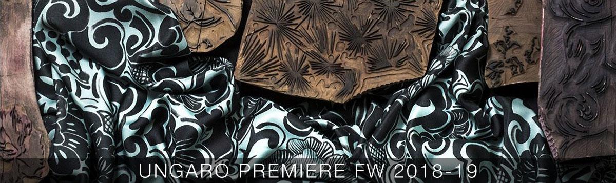 Ungaro Premiere fw 2018-19