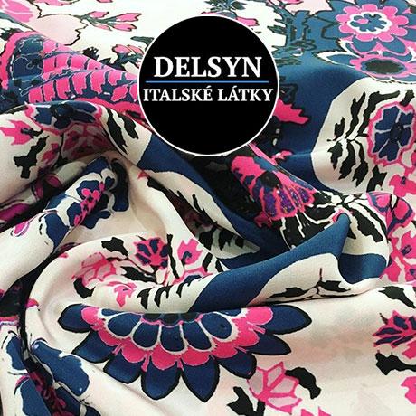 DELSYN - italské látky, Showroom luxusních italských látek - Dlouhá 16, Praha 1 , 5.patro, dveře 511