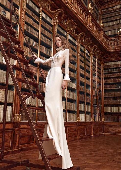 HAUTE COUTURE - kolekce Archandělé, kompletní realizace autorské kolekce pro Gianni di Leo